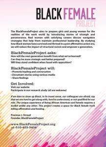 BlackFemaleProject Info